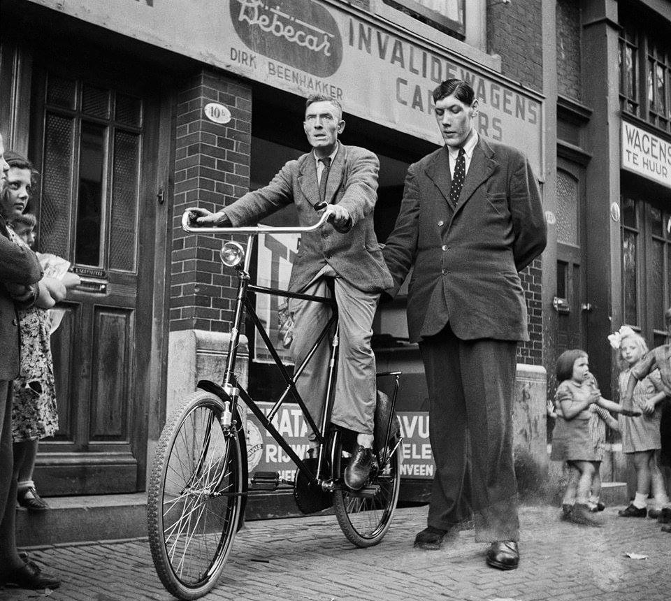 """Rigardus Rijnhout  """"The Giant of Rotterdam 1922 -1959."""