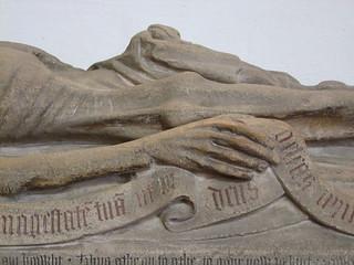 John Baret cadaver (detail)