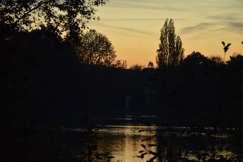 Sunset and reflections   by K1_Camz