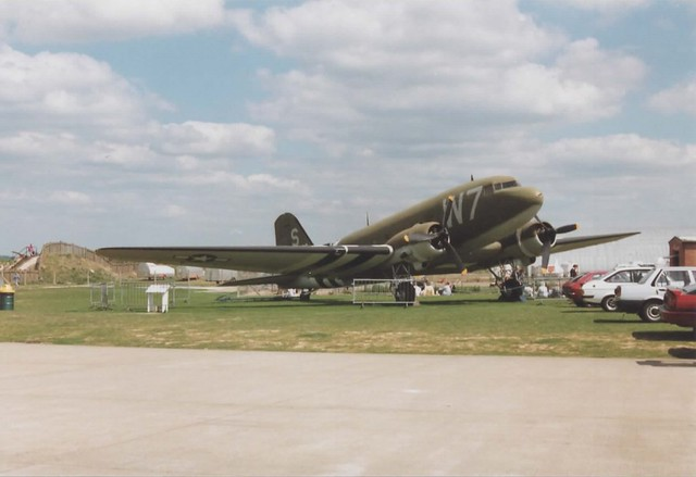 Douglas C-47 Skytrain @ IWM Duxford 1990