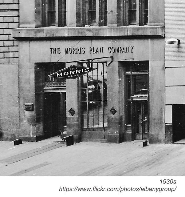 morris plan james street 1930s
