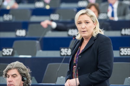 Plenary debate on terrorism and Paris attacks with Marine LE PEN (ENF) | by European Parliament