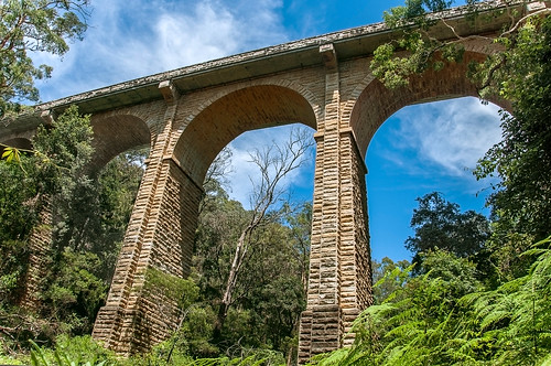 historic lowerbluemountains nsw australia knapsackviaduct viewfromdownunder abandoned