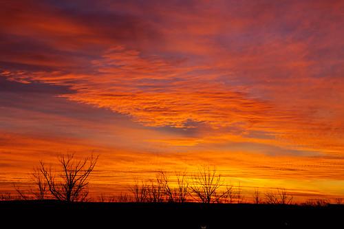 nature sunrise dawn cloudscape