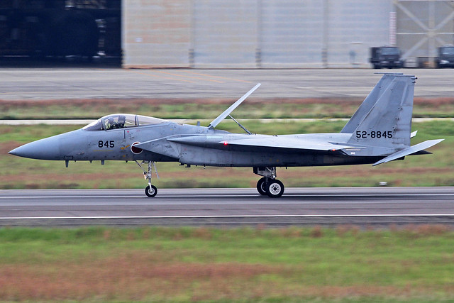 Japan Air Self Defense Force McDonnell Douglas F-15J Eagle 52-8845 NKM 28-10-16