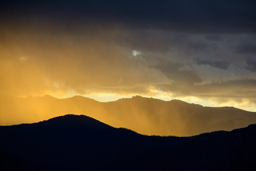 coloradosprings sunlight storms clouds sky mountains colorado sunsets