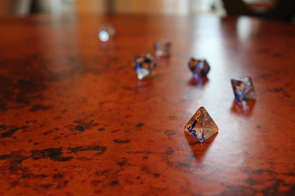 Dungeons & Dragons (D&D) Dice