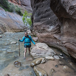 Hiking the Narrows, Zion