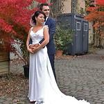 Mit dem Brautpaar beim Fotoshooting im Kreativpark Alter Schlachthof.
