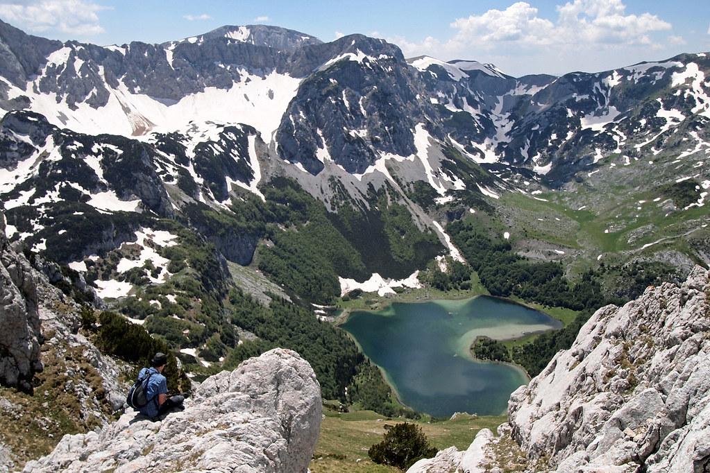 Trnovačko jezero ve tvaru srdce