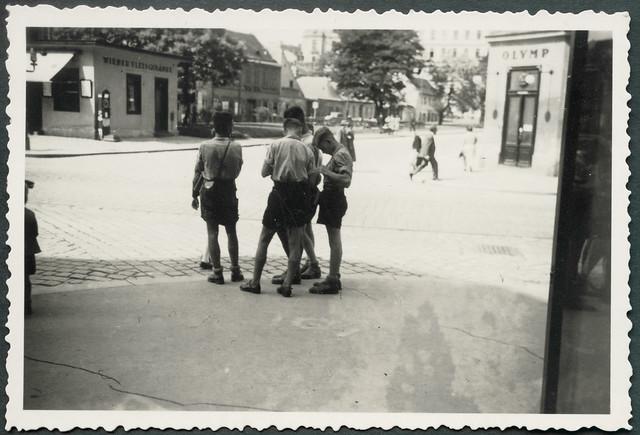 Archiv H707 Wien, Straße zum Museum, 1930er