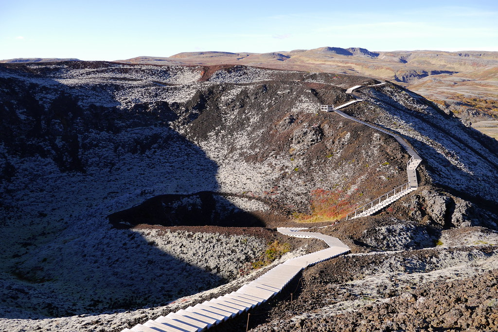 Path through the Craters