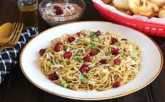 Cranberry Pesto Pasta