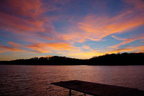 bellavista arkansas unitedstates sunset