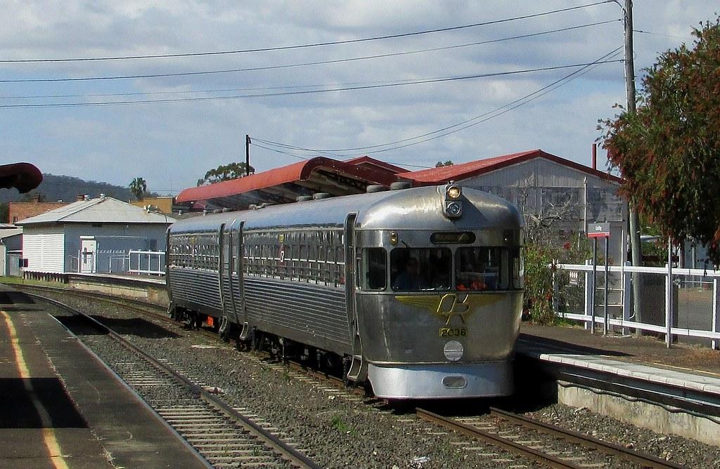 Queensland Rail Heritage - Silver Bullet by Shawn Stutsel