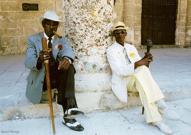 Abuelos de otra época - La Habana