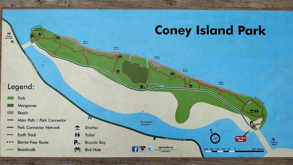 Map of Coney Island / Pulau Serangoon   Jnzl's Photos   Flickr