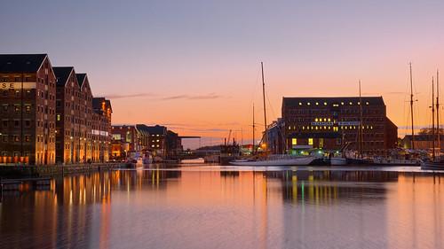 Gloucester Docks Sunset October 2015