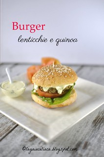 burger lenticchie e quinoa   by mammadaia