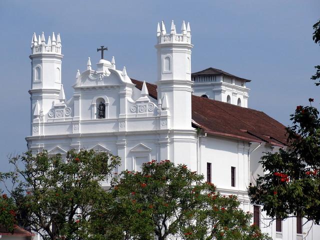 Se Cathedral, Goa, India