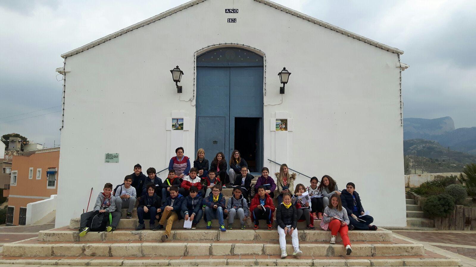 (2016-03-18) - aVisita ermita alumnos Pilar, profesora religión 9´Octubre - María Isabel Berenguer Brotons (09)