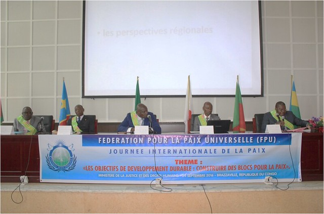 Congo-Brazzaville-2016-09-24-International Day of Peace Observed in Brazzaville, Congo