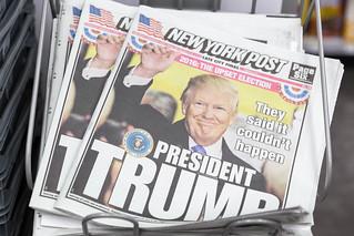 New York Post: President Trump | by wuestenigel