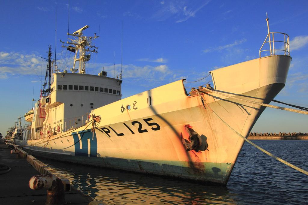 JCG Patrol Vessel PLH-07 Settsu, Pit-Road J57E (2013) |Hida Jcg Class Patrol Vessel