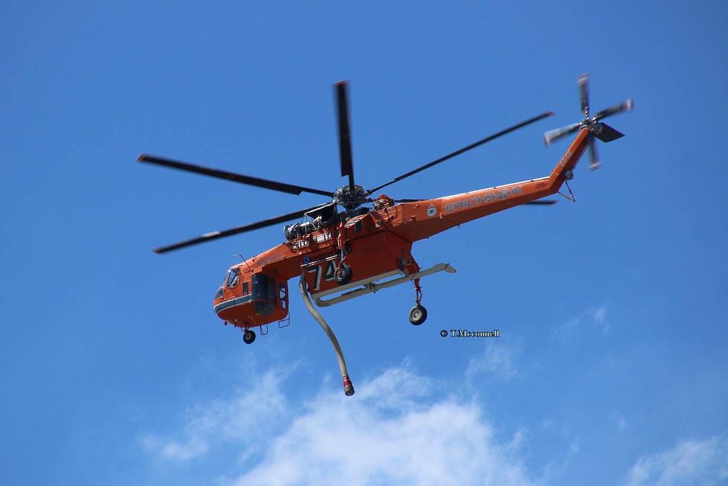 N194AC Erickson sky crane 741 to Londonderry NSW 13-11-16