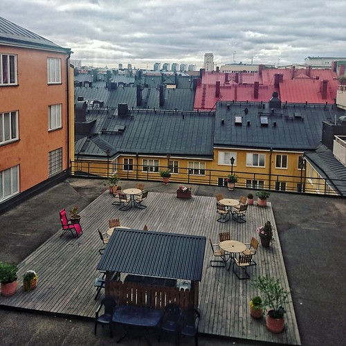 Stockholm rooftops | by anywhereism