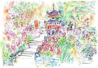 In the garden of Otagi Nembutsu-ji | by Todd Berman