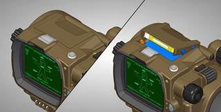 Pip-Boy 3000 Mk4, CAD, Holotape 1 | by ZapWizard