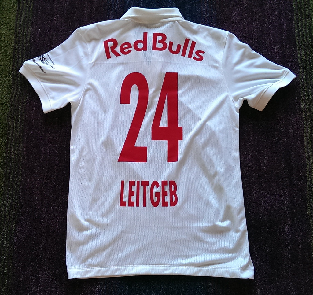 Fc Red Bull Salzburg Match Worn Shirt 2014 15 Christoph Le Flickr