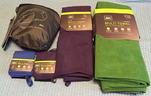 Sarah S - Towels and a Folding Duffle | by MetaCookbook