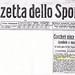 Gazzetta dello Sport (Lunedi 13 luglio 1925) - Giro di Toscana, vittoria di Ciaccheri su Giuntelli Marco