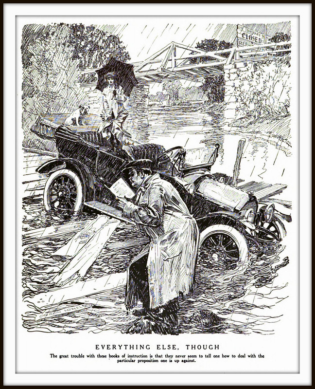 1917 January 27, JUDGE - Motor Car Travel Manual. Everyhing Else - by Orson Lowell