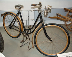 1910 - Damen Fahrrad Columbia mit Wellenantrieb