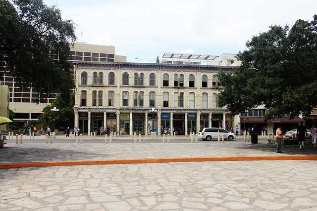 The Alamo - Plaza in front of