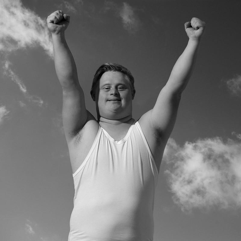 Special Olympics Fotoshooting Markus Hippmann