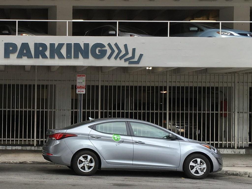 Zipcar Downtown Miami Phillip Pessar Flickr