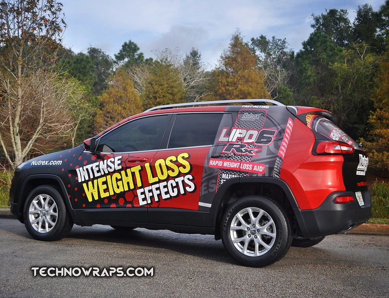 Jeep vehicle wrap graphics by TechnoSigns