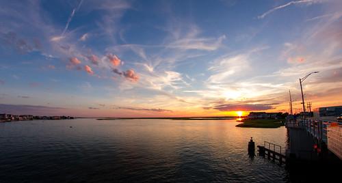 vacation bay us timelapse newjersey unitedstates nj stoneharbor bayside jerseyshore fisheyelens vacation2015