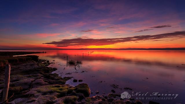 Lough Foyle Sunset