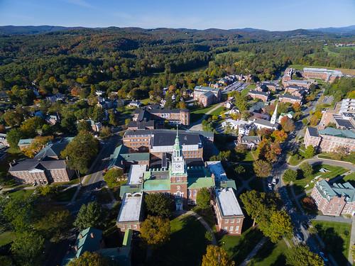 campus aerial dartmouth