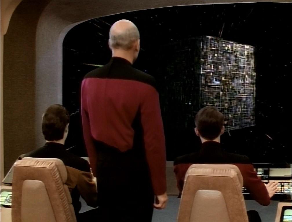 """Resultado de imagem para """"Q Who?"""" star trek"""