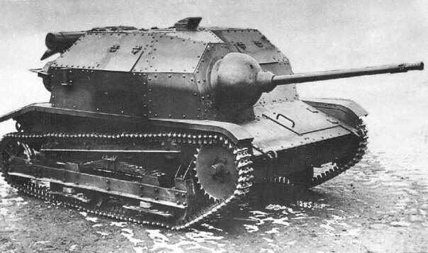 The tankette TK-3