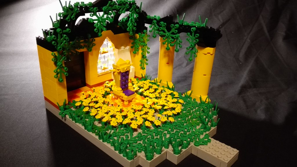 Lego Undertale Throne Room The Roof Or Walls Of The