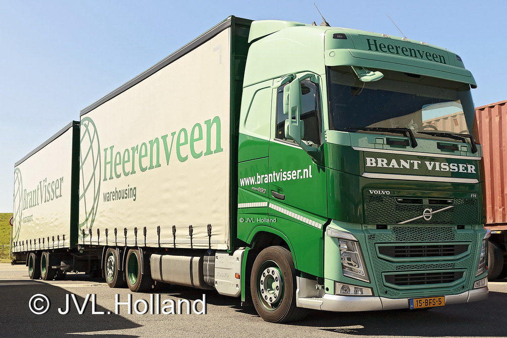 Ongebruikt Volvo FH460 NL 'BRANT VISSER' 160818-462-C1 ©JVL.Holland | Flickr PP-54