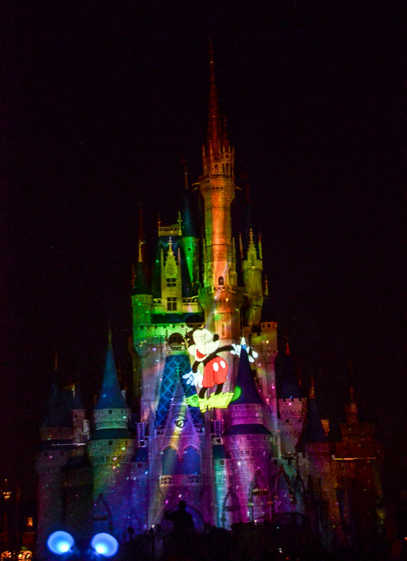 MK Mickey projection