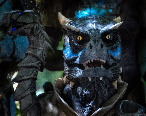 Skyrim Lizardman | by Garber Geektography